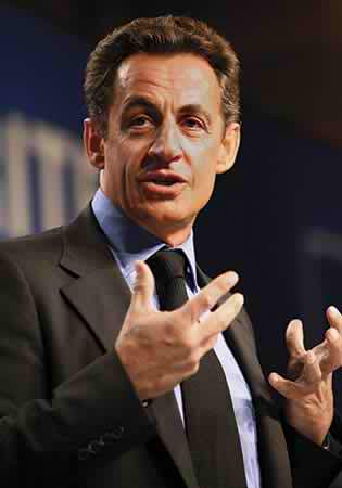Nicholas Sarkozy surrenders France