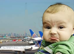 bad baby terrorized flight crew and passangers