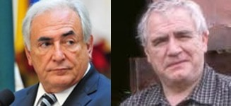 Dominique Strauss-Kahn look alike American actor Brian Cox
