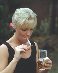 Smoked and drank while pregnant
